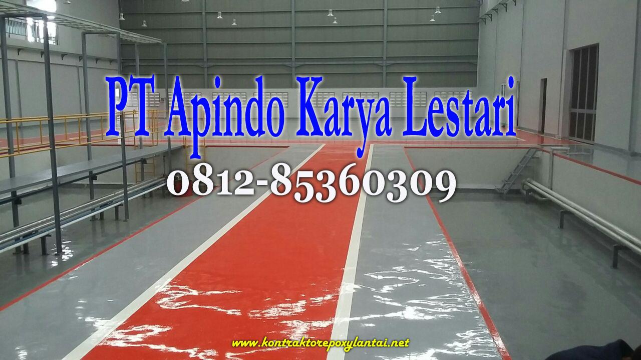 Jasa Epoxy Lantai Yogyakarta