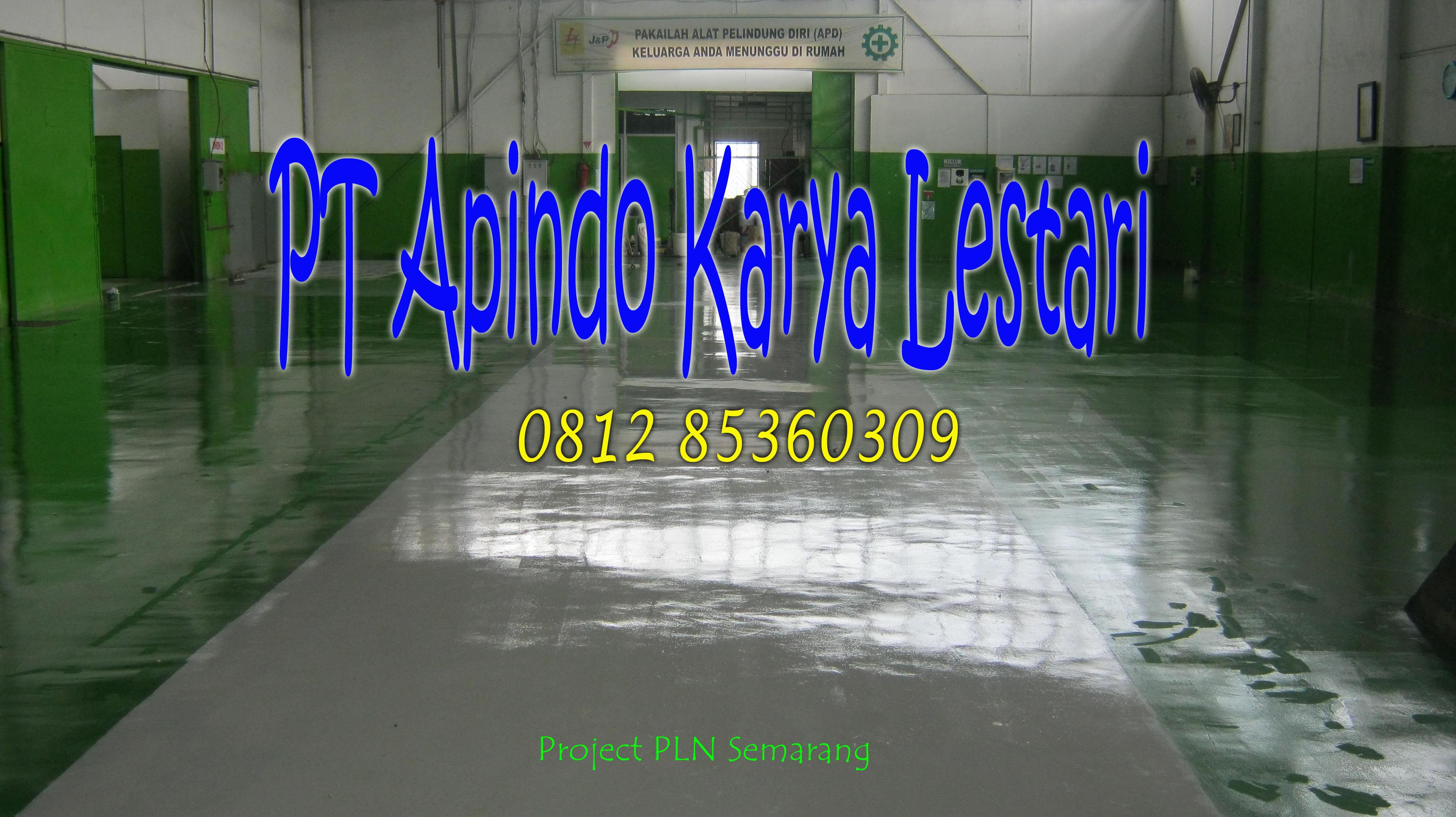 Kontraktor Epoxy Lantai Padang